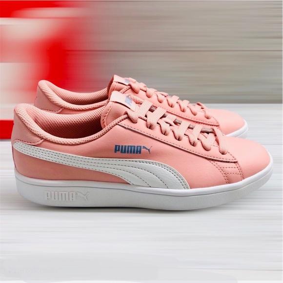 light pink puma shoes